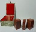 寿山红三方套印-大